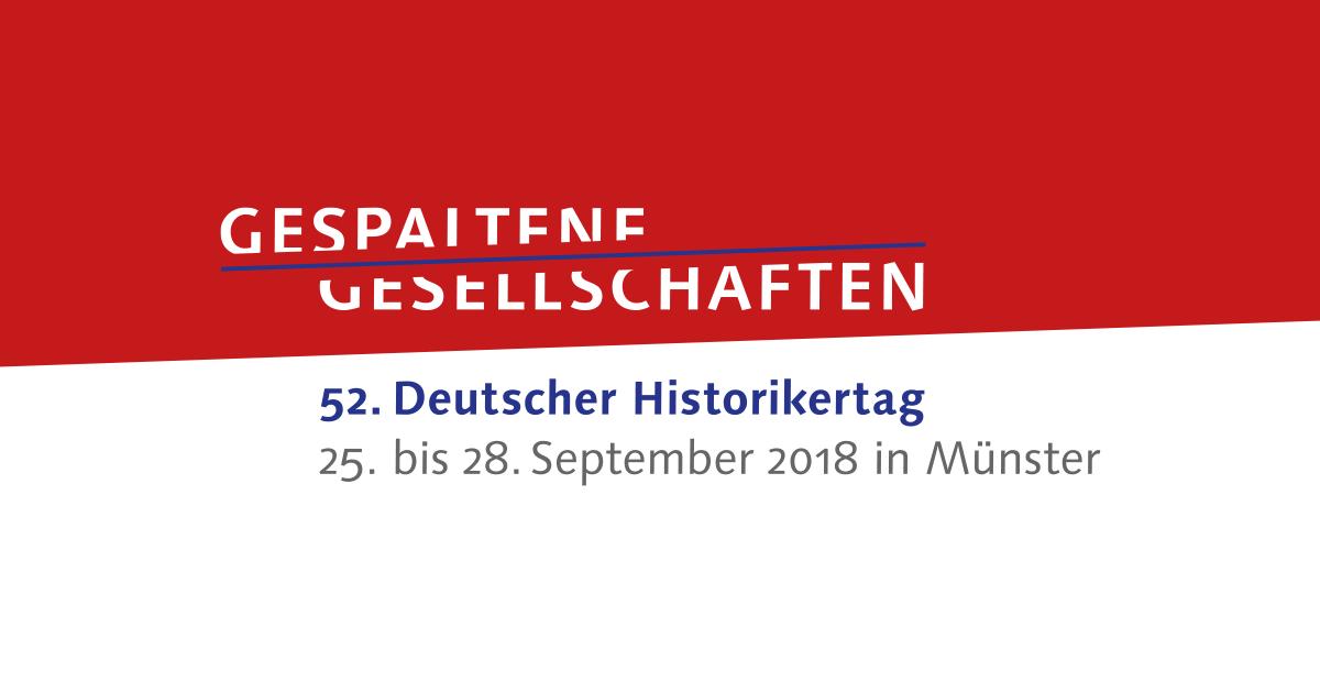 Der VGD auf dem Historikertag 25. bis 28.9.2018 in Münster