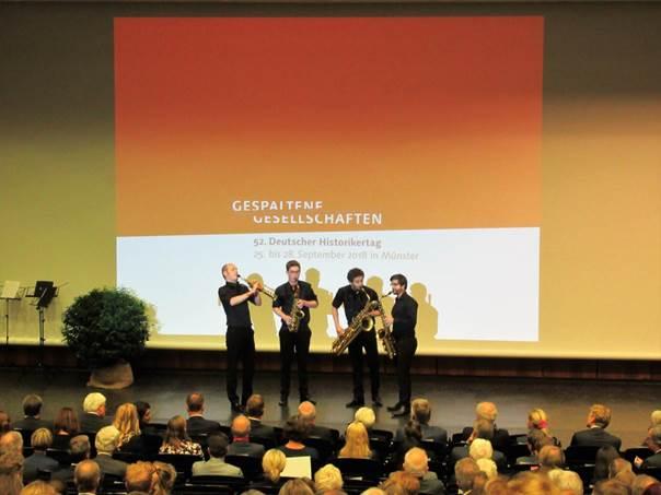 """25.9.2018 Historikertag """"Gespaltene Gesellschaften"""""""