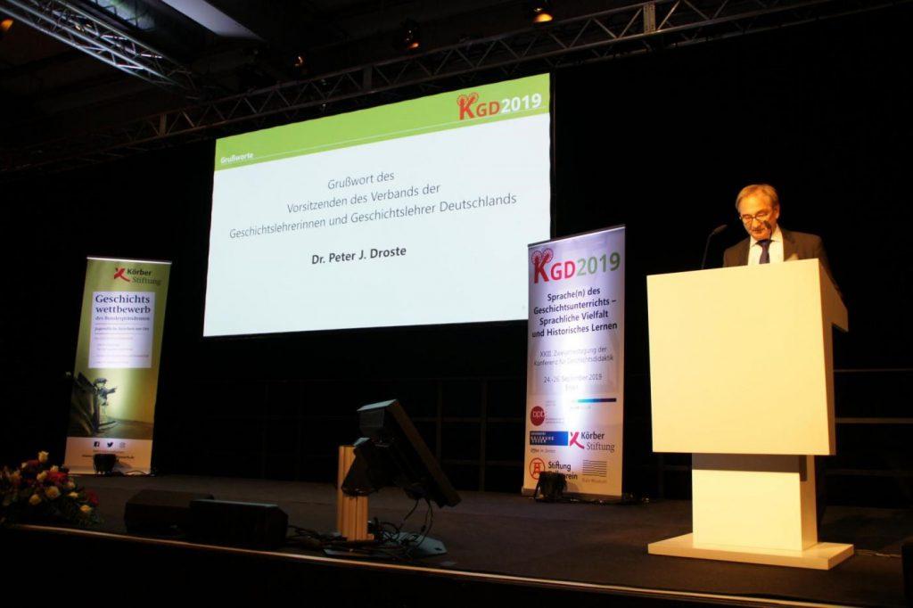 24. bis 26. 9. Konferenz für Geschichtsdidaktik (KGD) in Essen