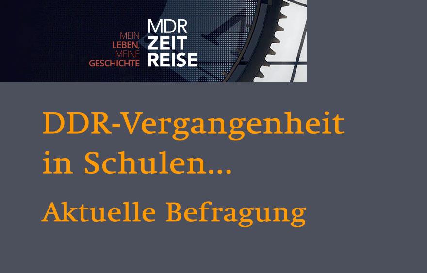 MDR Befragung – Kommt die DDR zu Kurz im Unterricht?