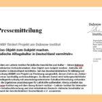 Pressemitteilung: BMBF fördert Projekt am Dubnow-Institut »Das Objekt zum Subjekt machen. Jüdische Alltagskultur in Deutschland vermitteln«
